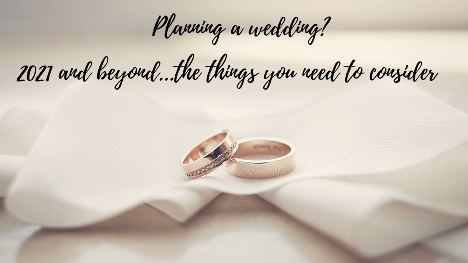 Wedding planning 2021 and beyond – important considerations including Brexit.